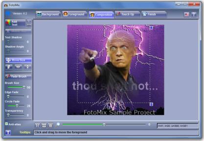 Pomocí FotoMix si vytvoříte vlastní fotomontáž