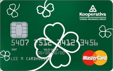 Co-brandová kreditní karta České spořitelny a Kooperativy. Byla vydávána v době od 1. 8 . 2015 do 31. 7. 2015