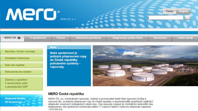 [aktualita] MERO chce zdigitalizovat provoz ropovodů. Zvažuje i vytvoření digitálního dvojčete