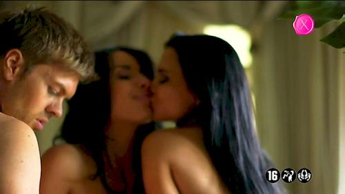 Ukázka z vysílání erotické stanice Dorcel TV