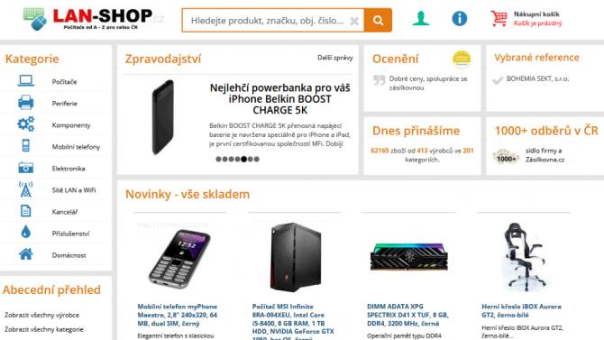 [aktualita] E-shop lan-shop.cz oznámil změnu majitele a ukončení činnosti