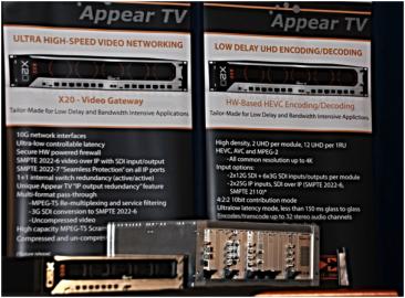 Vlastnosti nové platformy pro zpracování signálů head-endů.