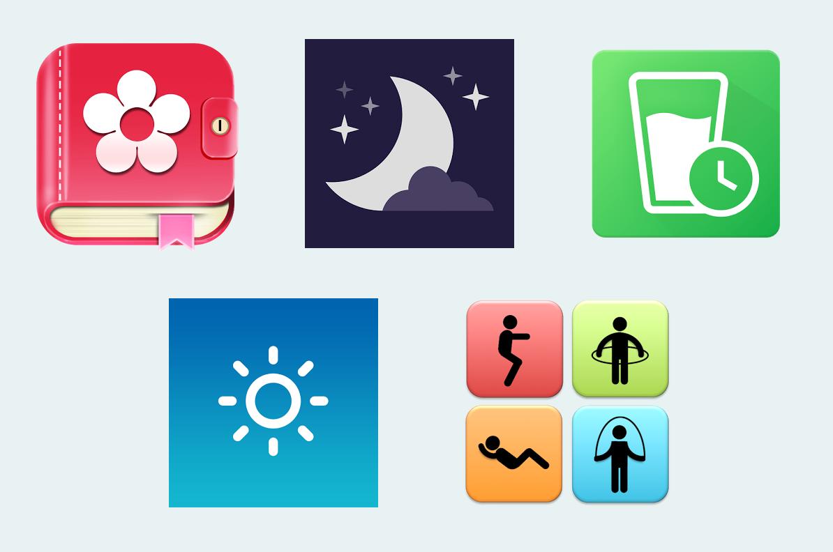5 mobilních aplikací, co vám pohlídají zdraví