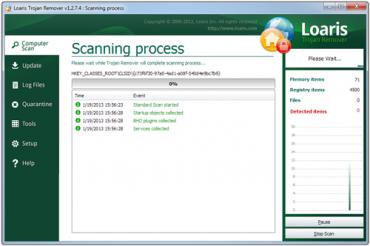 <p>Loaris Trojan Remover vám pomůže s odstraněním škodlivých aplikací</p>
