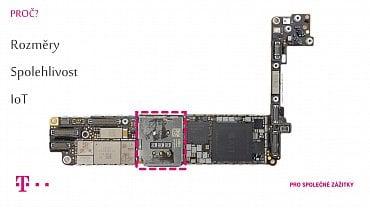 Zdířka na SIM zabírá pětinu plochy základní desky iPhonu8