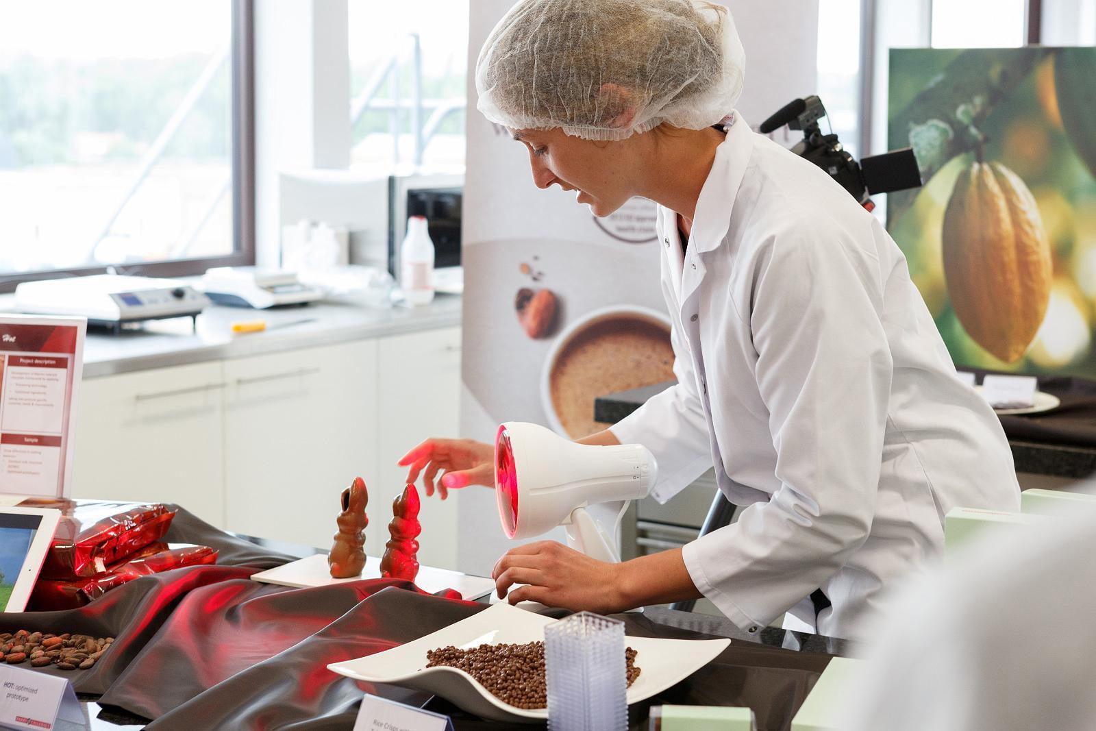Vývoj čokolády odolné teplu