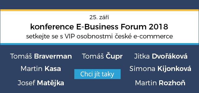 EBF 2018 tip v článku  jména Podnikatel