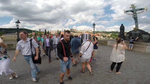 Blesk TV zavádí novinku Selfie z Prahy