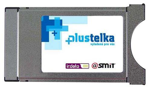 CA modul pro příjem programů placené televize Plustelka