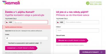 České mobilní číslo je pro žádost o půjčku nezbytné. Jiné systém neakceptuje.
