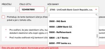 Splolečnost Home Credit by si měla zakutalizovat číselník bank. LBBW Bank má už téměř 2,5 roku název Expobank.