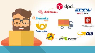 Přímé napojení e-shopu na dopravce od ByznysWebu šetří čas i peníze