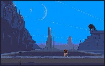 Another World - Amiga. Zde je vizuál velmi podobný, opět je znát lepší podání barev u Amigy. Hlavní je ale plynulost, kdy na ST se hra umí velmi zpomalit a přestat reagovat na podněty z joysticku (což u této hry prakticky znamená smrt postavy).