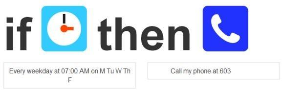 Budíček přes telefon pomocí IFTTT