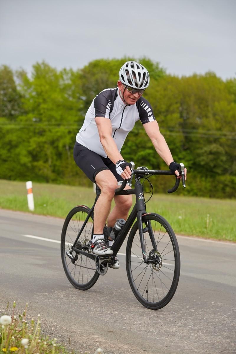 Rudolf Kasper na kole (Foto © Xantipa Agency)