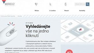 Lupa.cz: Portál Justice.cz čeká velký redesign