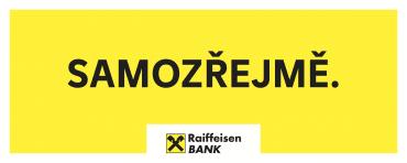 """Nová forma komunikace Raiffeisenbank s hlavním heslem v podobě slova """"Samozřejmě"""" (20. 9. 2021)"""
