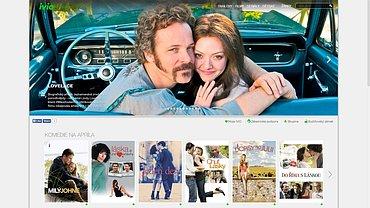 Ukázka internetového portálu Ivio. Obrázek lze zvětšit.