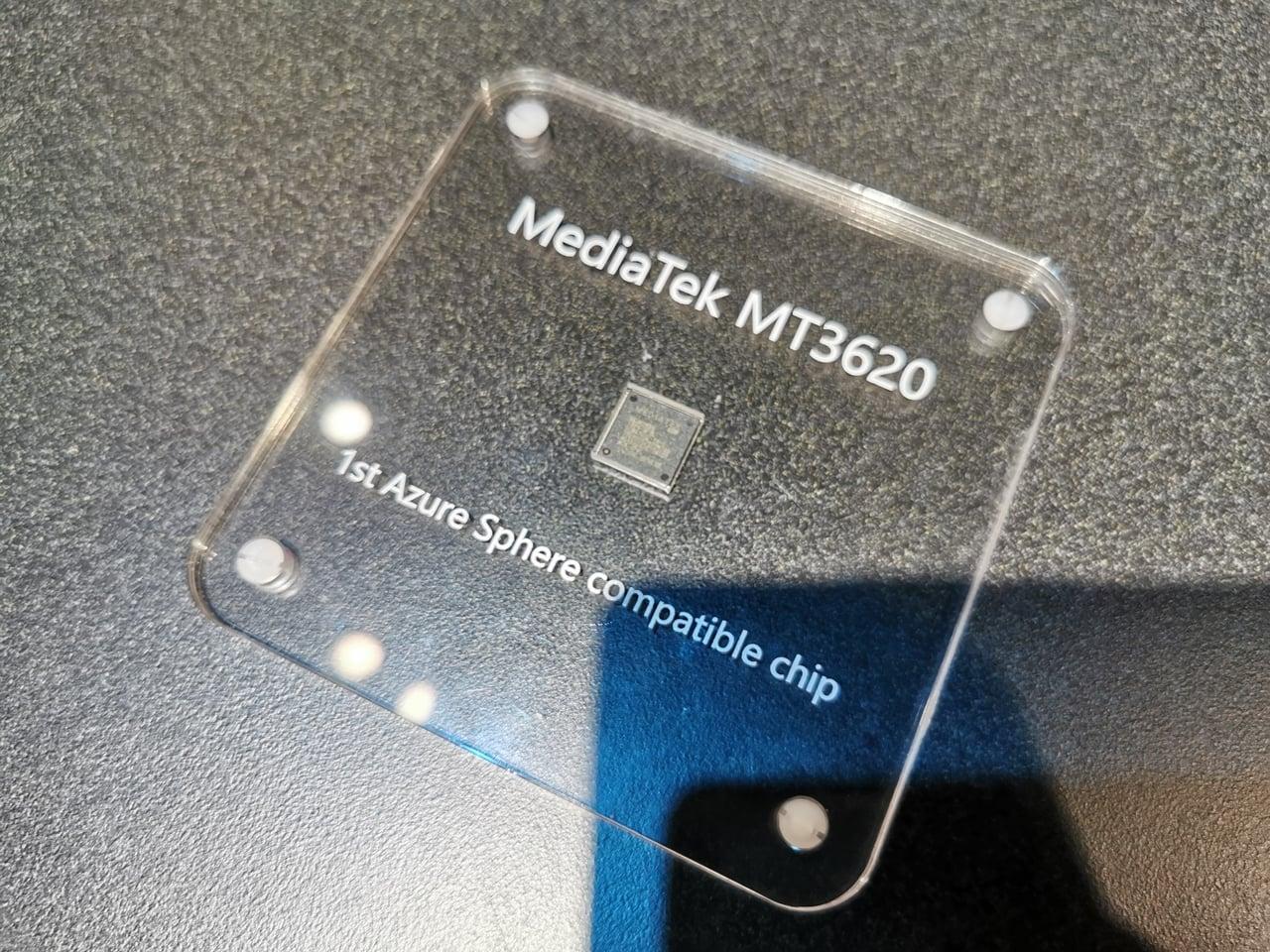MediaTek MT3620: první čip pro Azure Sphere