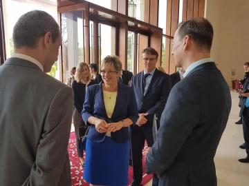 Ministryně průmyslu a obchodu Marta Nováková na návštěvě v Huawei v Číně