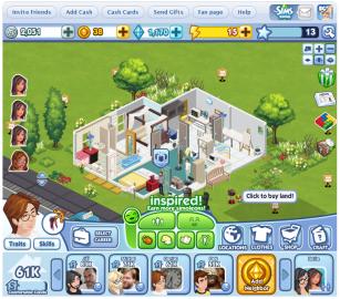 Sims Social (EA)