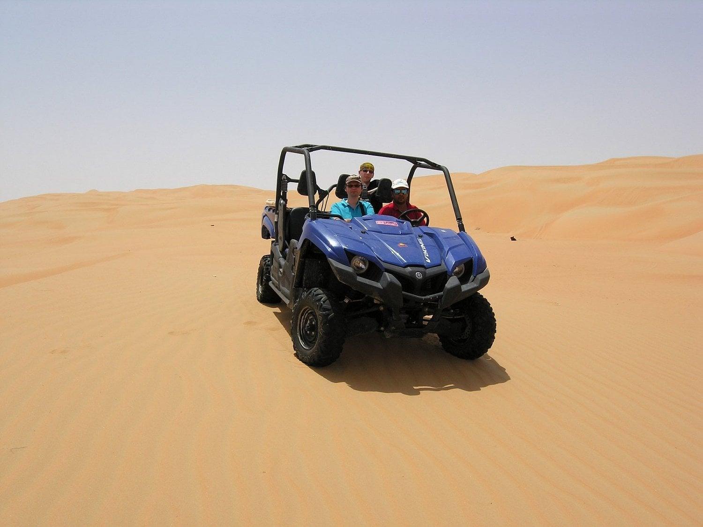 Afrika, auto, poušť
