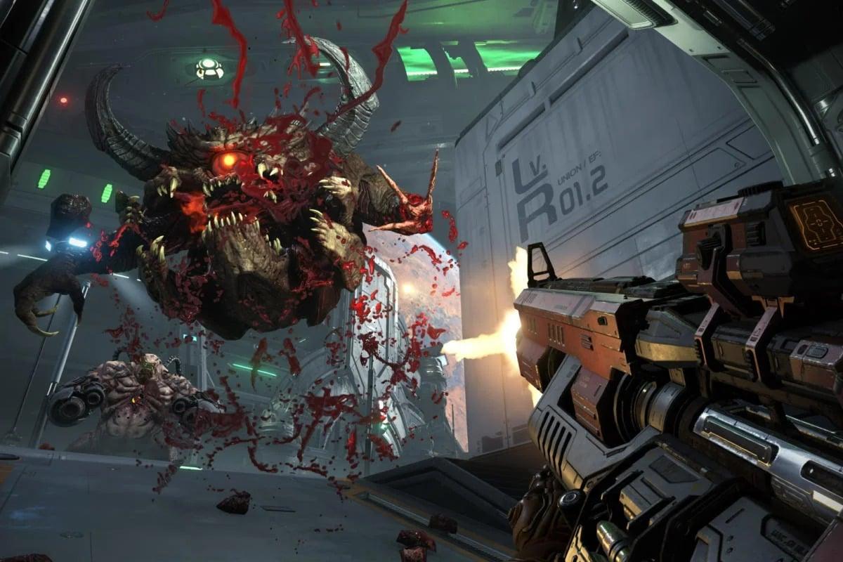 Doom Eternal sice patří mezi rychlé hry, nicméně to nic nemění na tom, že je součástí nabídky her Google Stadia.