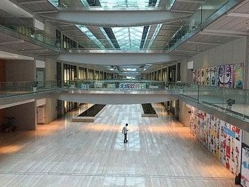 R&D centrum Huawei je nejdelší budovou v Šanghaji.