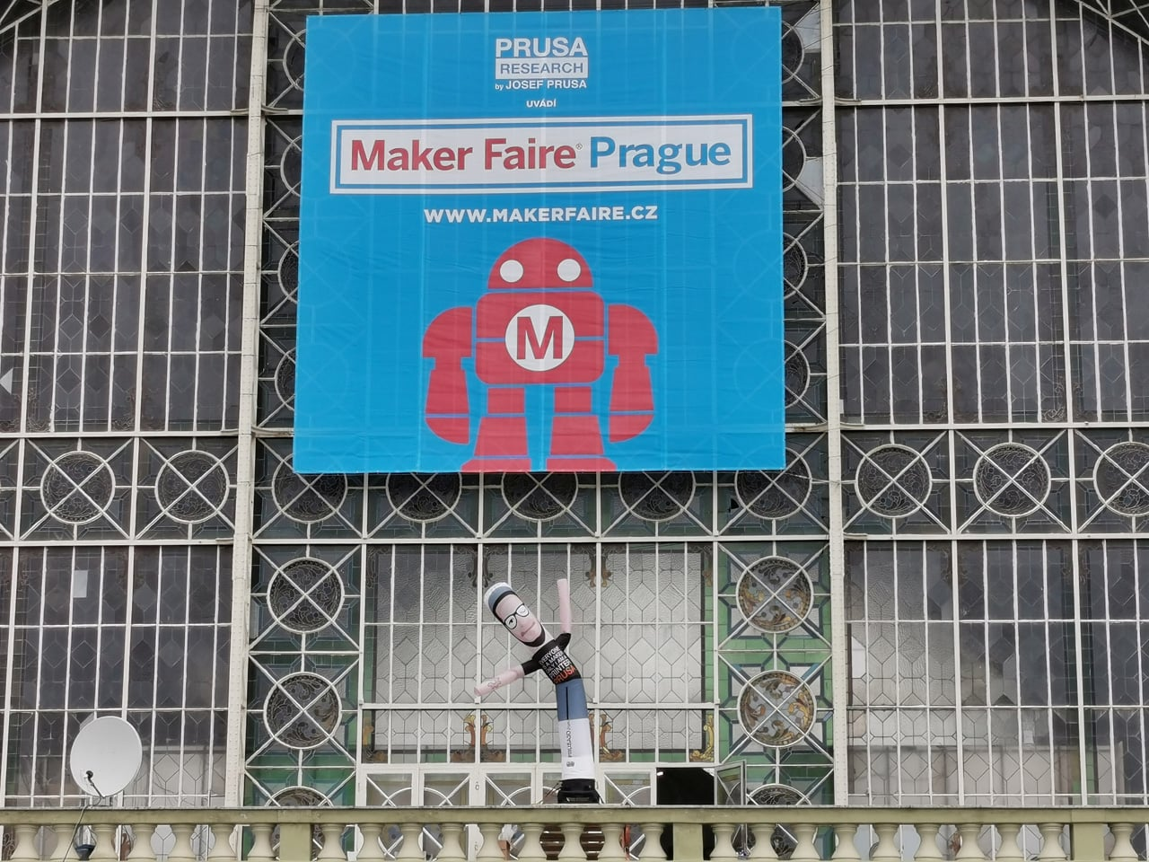 Jak vypadal Maker Faire Prague 2019
