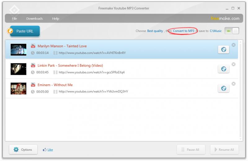 Freemake YouTube MP3 Converter převede video z YouTube klidně do MP3