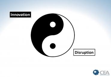 """""""Inovace a disrupce jsou jako jin a jang,"""" nahlíží Steve Koenig"""