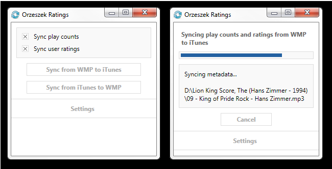Orzeszek Ratings