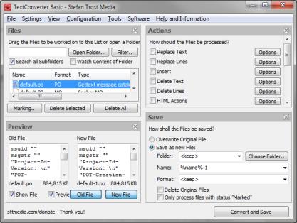 Text Converter si poradí s textovými soubory