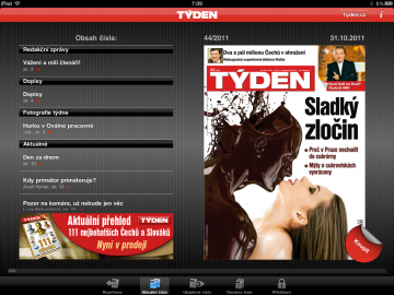Jednoduché, levné, bezúdržbové - aplikace časopisu Týden.