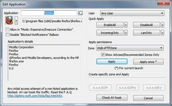 Windows 7 Firewall Control vás ochrání před nežádoucími síťovými připojeními