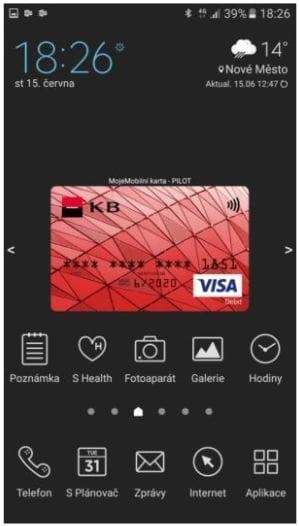MojeMobilní karta a nová Mobilní banka od KB
