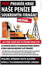 Inzerát České asociace satelitních operátorů z května 2017