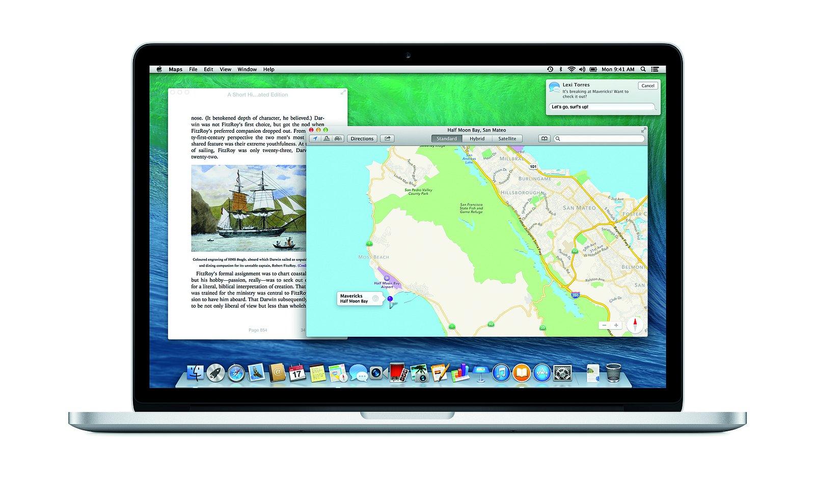 Nový OS X a produkty společnosti Apple
