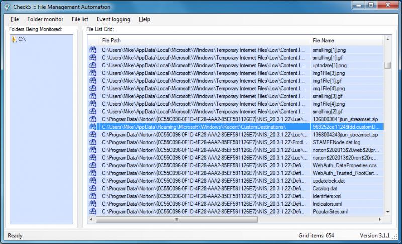 Pomocí Check5 odhalíte změny ve file systému