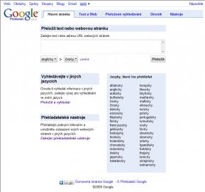 webové stránky bez registrace