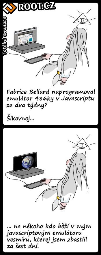 Komiks: totální emulace