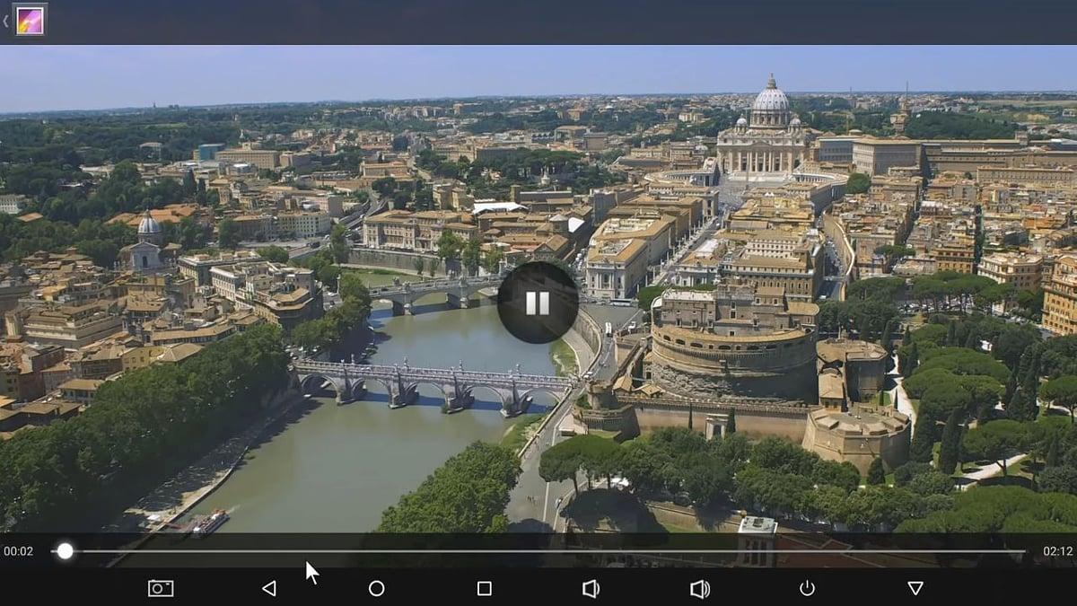 Alfawise H96 Mini - Ukázky přehrávání videosouborů