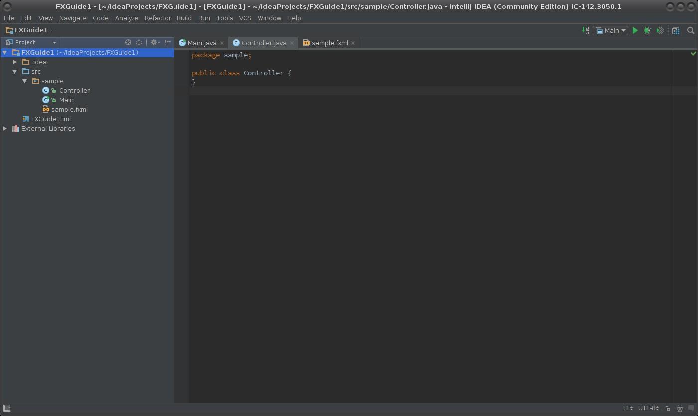 Aplikace JavaFX