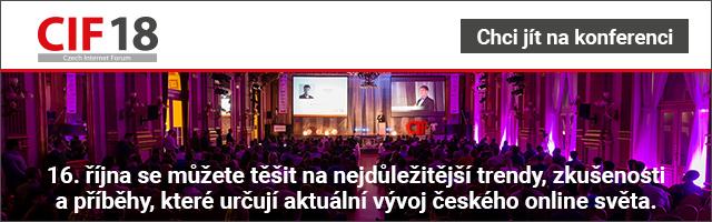 Czech Internet Forum 2018 Tip s tlačítkem