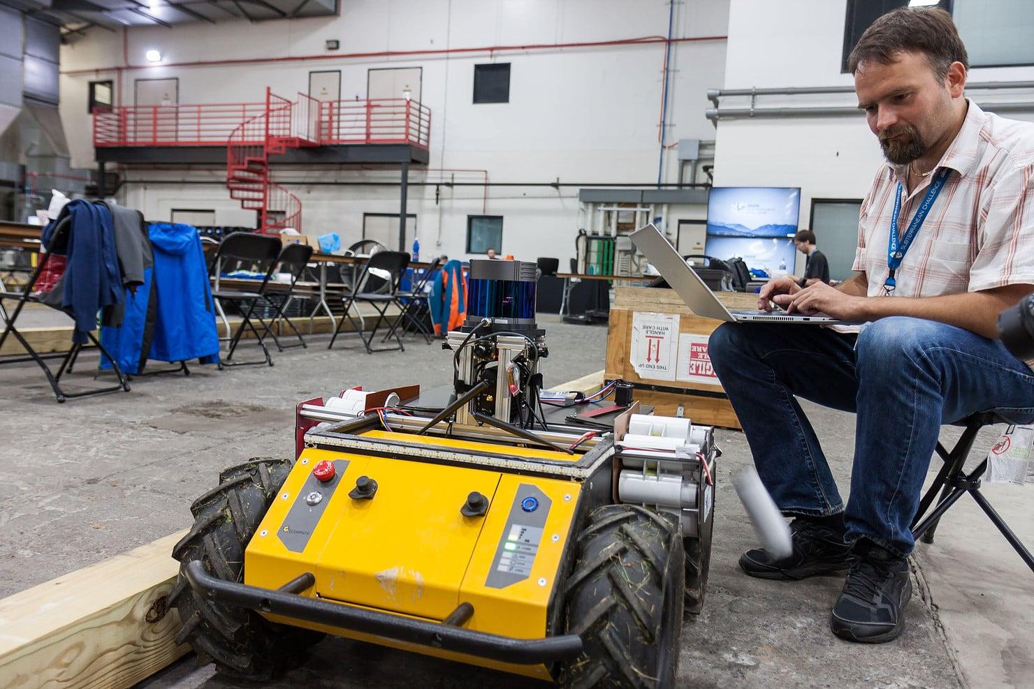 FEL ČVUT na soutěži DARPA Subterranean Challenge v Pittsburghu