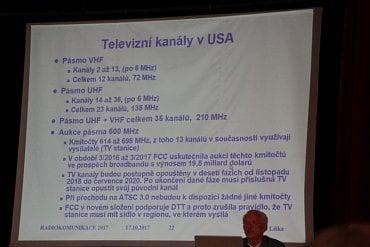 Televizní kanály v USA.