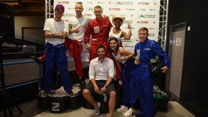 Závodní akademie byla zábava, ale také příležitost pro propagaci značek