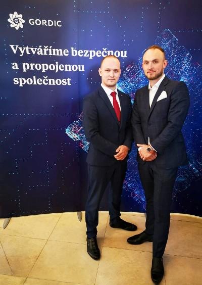 Ředitelé pro strategický rozvoj společnosti GORDIC: Ing. Michal Řezáč a Ing. Marek Řezáč
