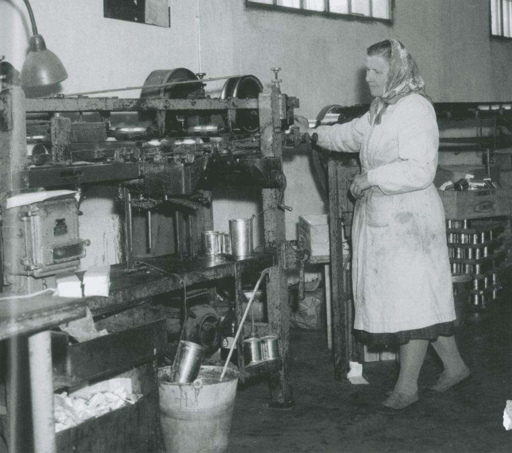 Mlékárna Hlinsko a vývoj jejích výrobků v čase