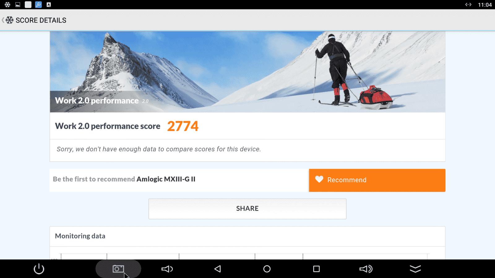 Android MX - benchmarky